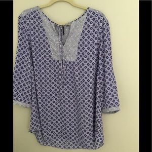 Not your mother's jeans top NWT Size 1X